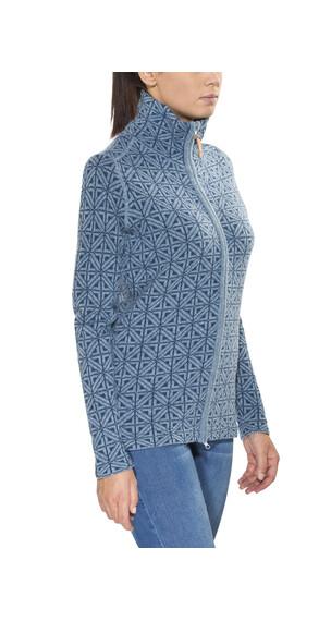 Fjällräven Övik Frost Cardigan Women Dove Blue